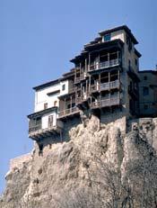 Oferta de trabajo en Cuenca... hala, con las casas colgás